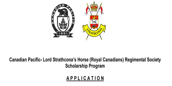 {Canadian Pacific / Strathcona Student Scholarship Program}