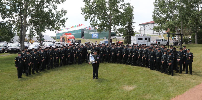 {A Sqn at Spruce Meadows & Calgary Stampede 2017}