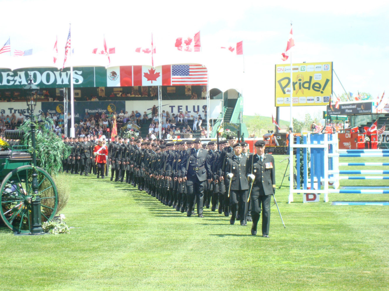 The Calgary Stampede And Spruce Meadows 2008